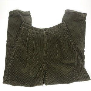 VTG Ultra Baggy Eddie Bauer Brown Corduroy Pants